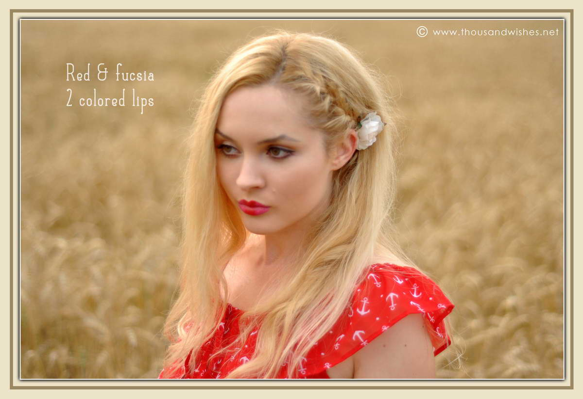 04_red_and_fucsia_2_colored_lips_braids