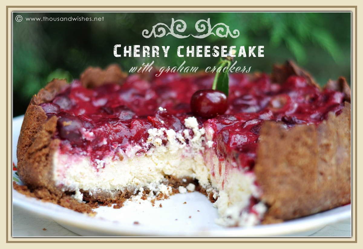 10_cherry_graham_crackers_cheesecake