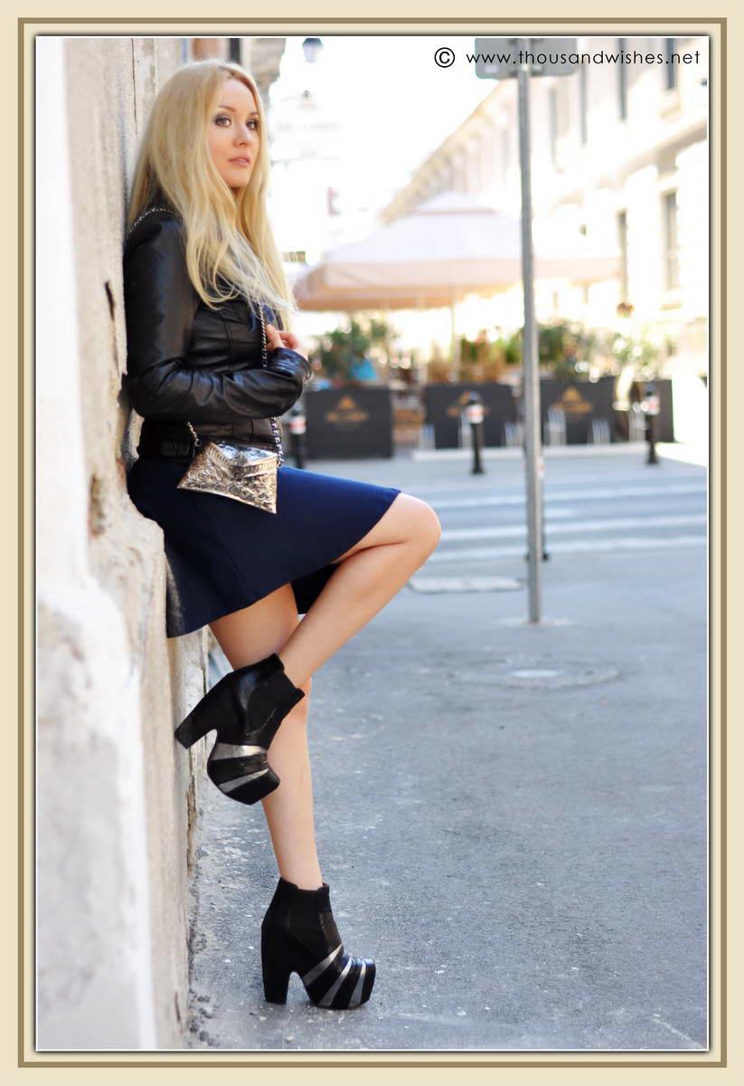 09_ink_blue_dress_silver_black_jeffrey_campbell_boots_leather_jacket