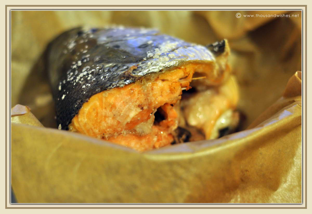 how to cook a whole salmon without a fish kettle