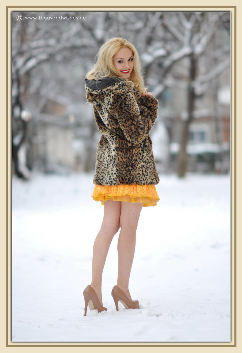 16_yellow_lace_prom_party_dress_leopard_coat