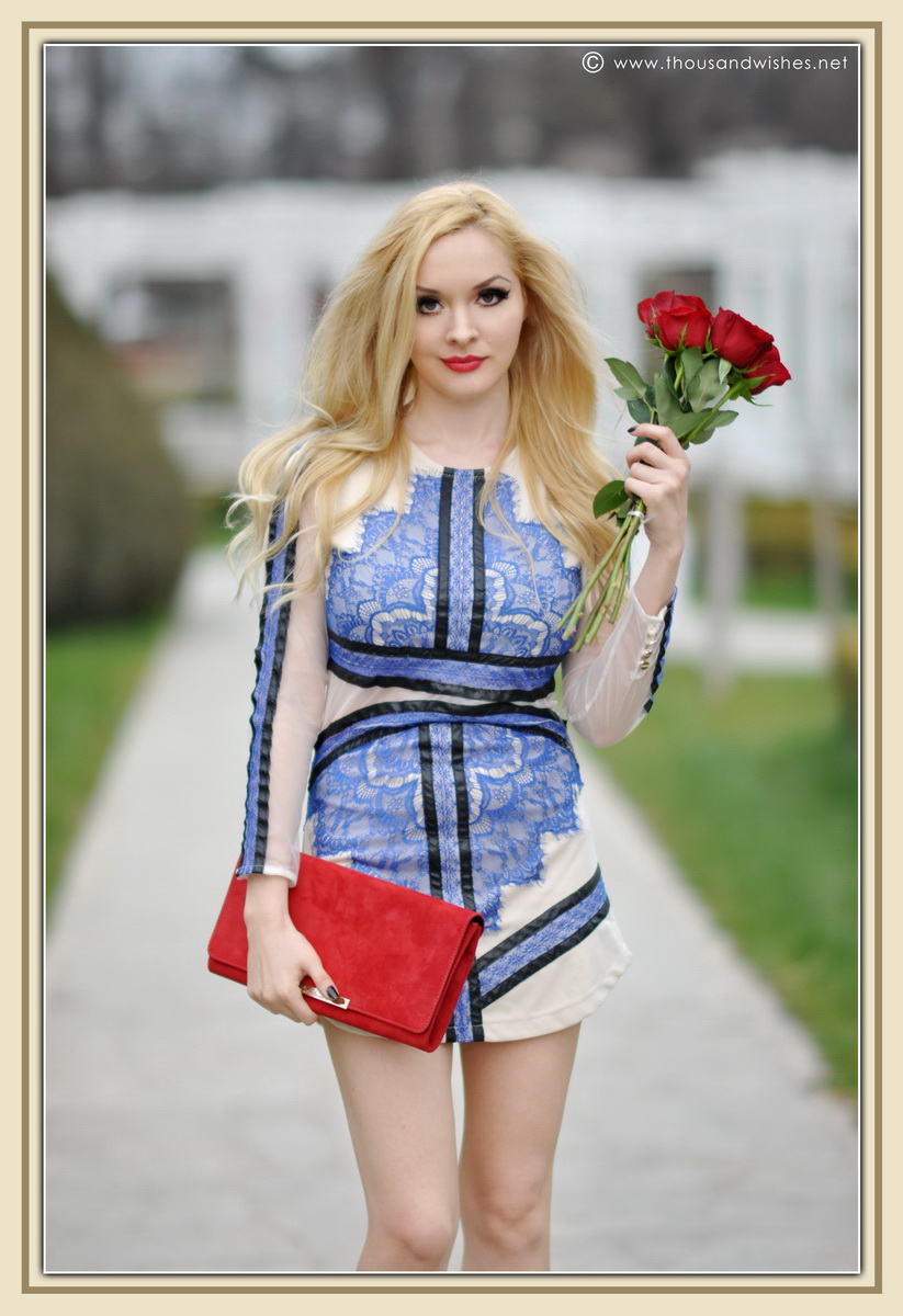 09_blue_dress_sheinside_black_pumps_red_clutch_lips