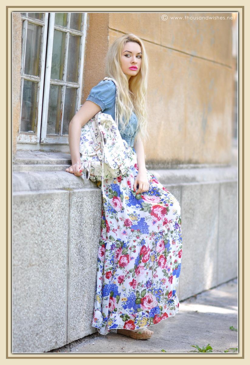 01_floral_patterns_mix_long_dress_jeans_jacket