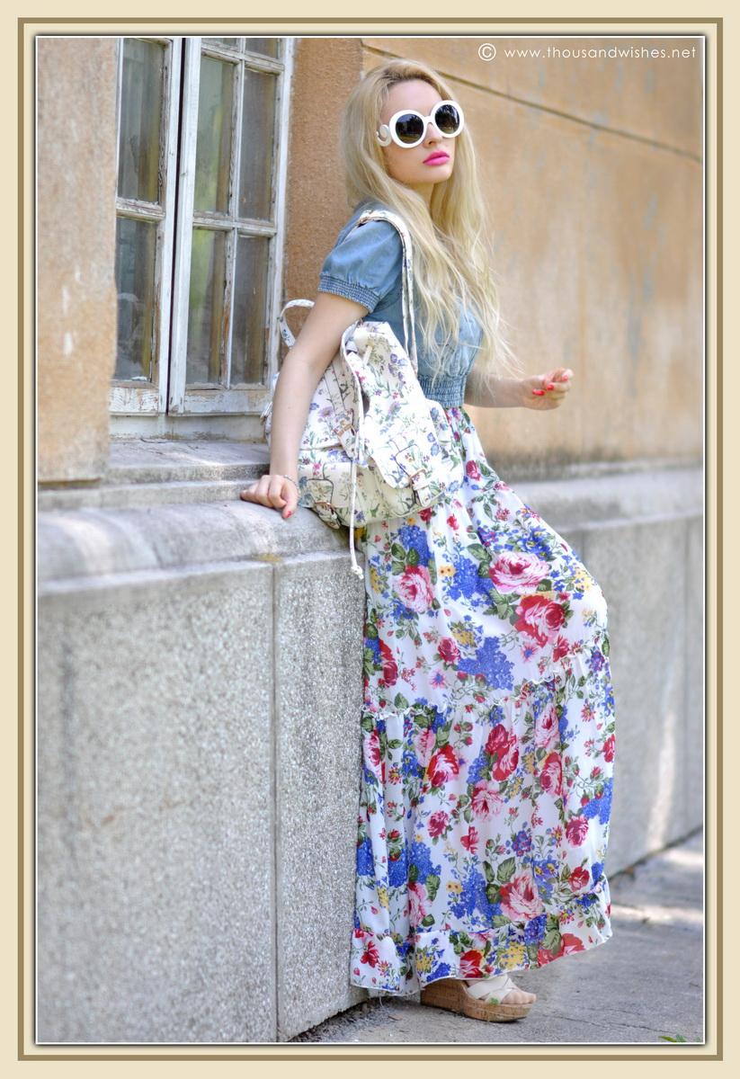 02_floral_patterns_mix_long_dress_jeans_jacket
