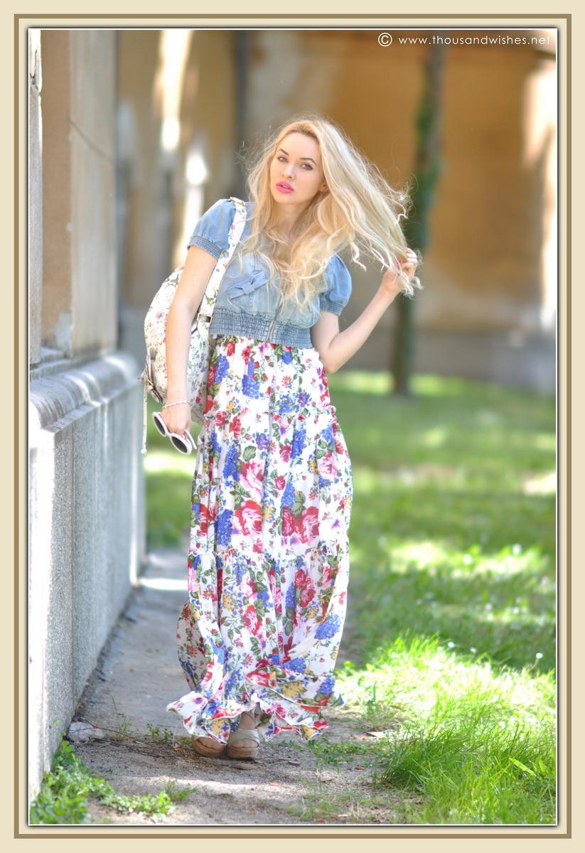 08_floral_patterns_mix_long_dress_jeans_jacket