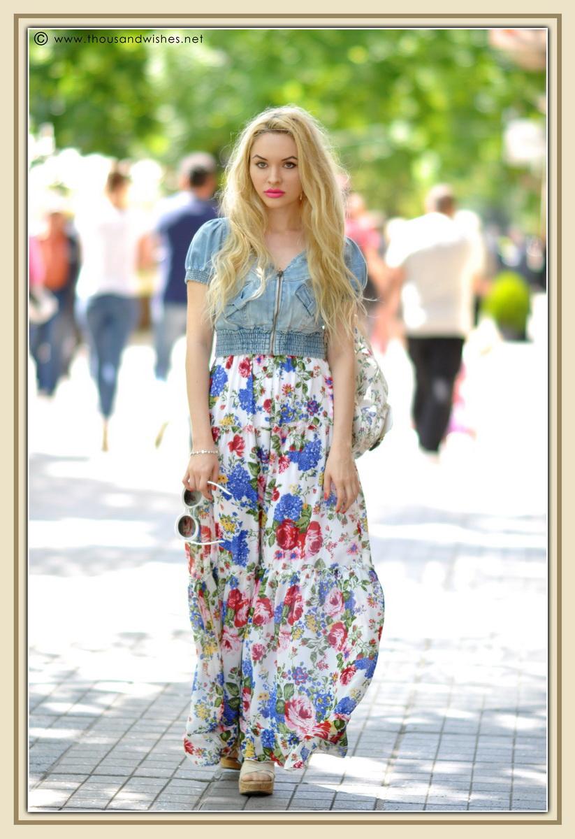 13_floral_patterns_mix_long_dress_jeans_jacket