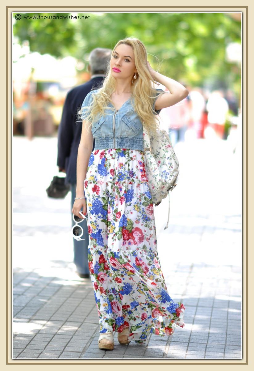 14_floral_patterns_mix_long_dress_jeans_jacket