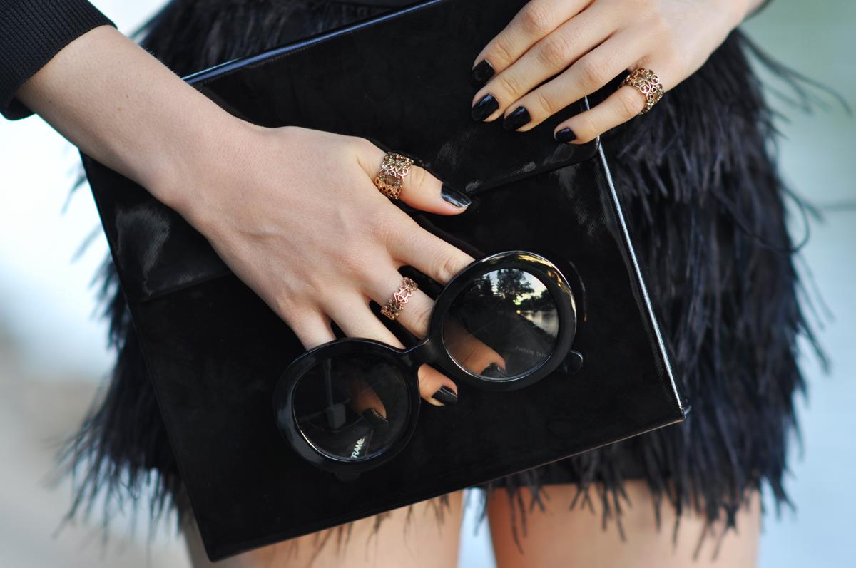 10_zara_black_feather_skirt