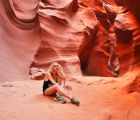 US roadtrip - Antelope Canyon Navajo Reserve | 237 Views | Fame 13.17