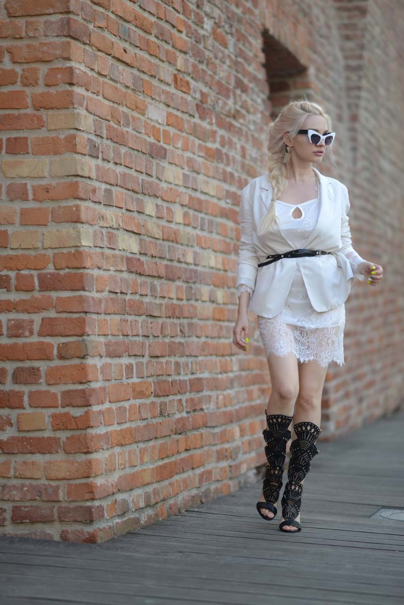 16_white_lace_dress_black_gladiators
